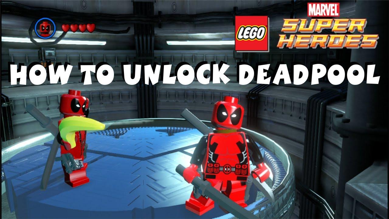 Deadpool X-Men Marvel Super Heroes X-Force LEGO KnockOff ... |Lego Marvel Superheroes Deadpool Set