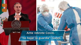 El subsecretario de Salud, Hugo López-Gatell, señaló que 27 estados del país mantienen una reducción en el número de casos diarios