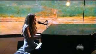 Birdy Performs Skinny Love live on the 55th TV Week Logie Awards