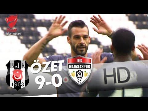 Beşiktaş - G. Medical Manisaspor Maç Özeti