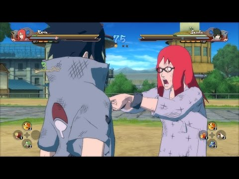 KARIN VS SASUKE - Naruto Shippuden Ultimate Ninja Storm 4