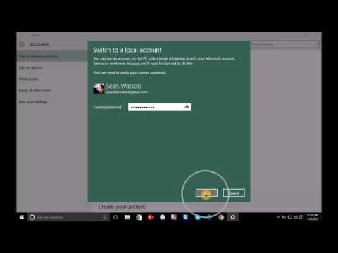 remove account from windows 8.1