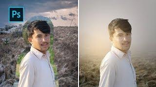 Photoshop: Photo Manipulation Outdoor Light Effects