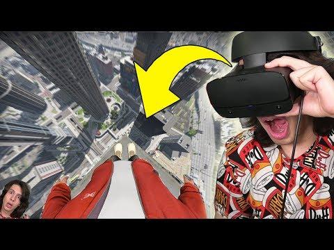JOGANDO GTA 5 COM OCULUS RIFT (REALIDADE VIRTUAL) - VR (Muito REAL)