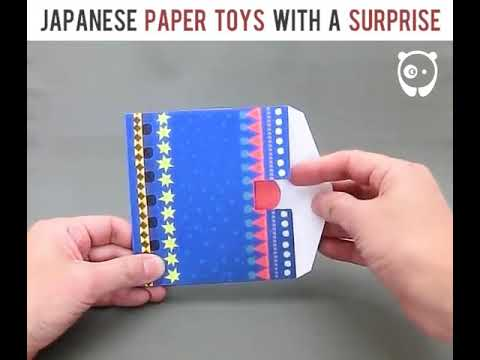 japanese paper toys
