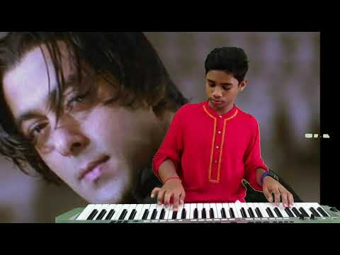 tere naam title song  keyboard cover by siddhu