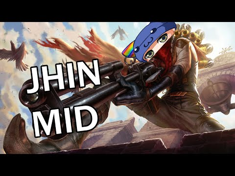 High Noon Jhin Mid - Full Gameplay Commentary