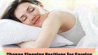 9 Effective Home Remedies For Snoring