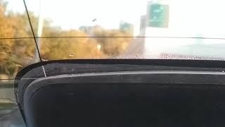 Skoda Rapid вода под задним стеклом