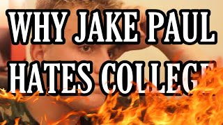WHY JAKE PAUL HATES COLLEGE (DELETED INTERVIEW)