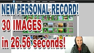 🔥 Memorized 30 Images in 26.56 Seconds | New Personal Record! | Luis Angel Memory League Training