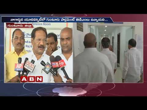 TDP Leader Nakka Anand Babu Meets EC Gopala Krishna Dwivedi, files Complaint over CCTV failure