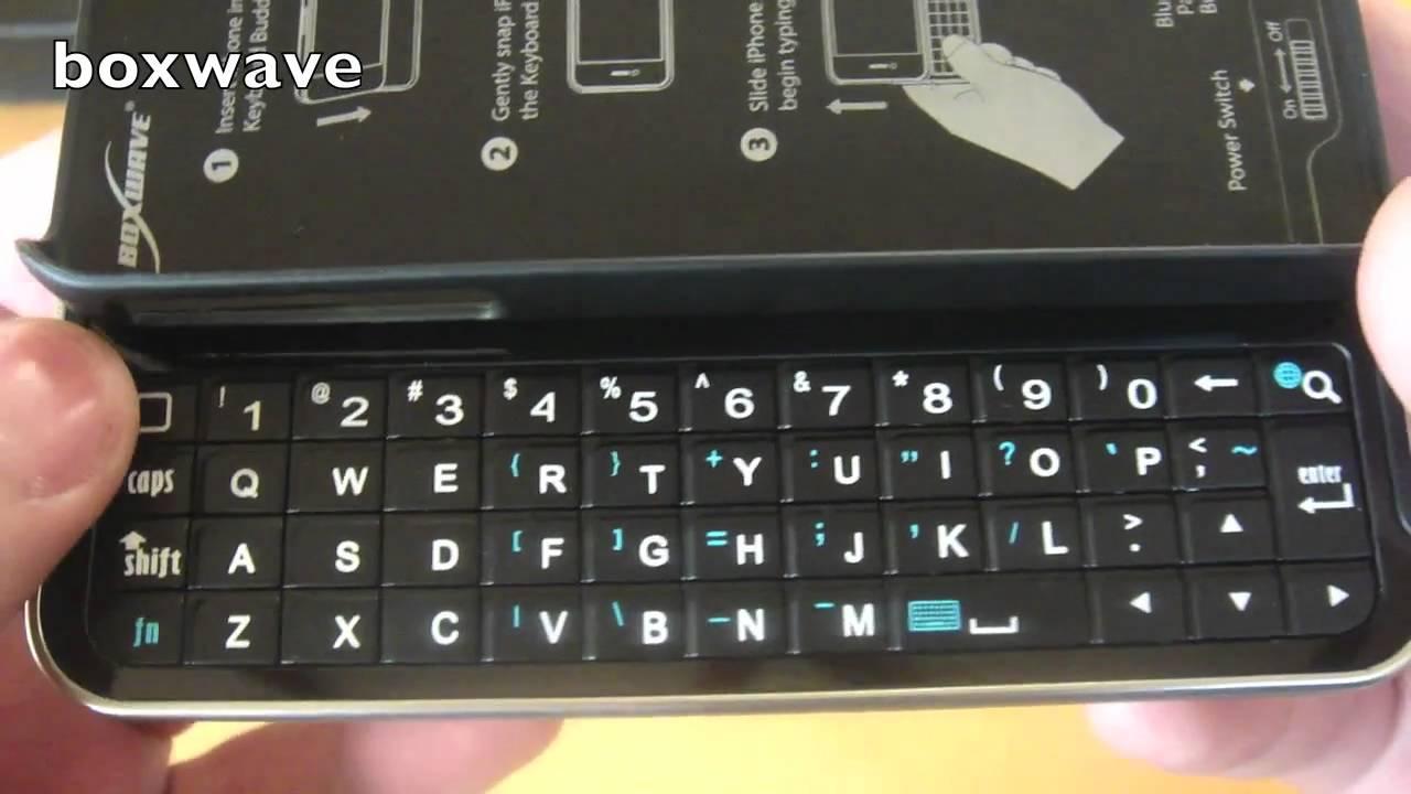 new product 32f45 14225 Boxwave Keyboard Buddy Case VS NUU Minikey