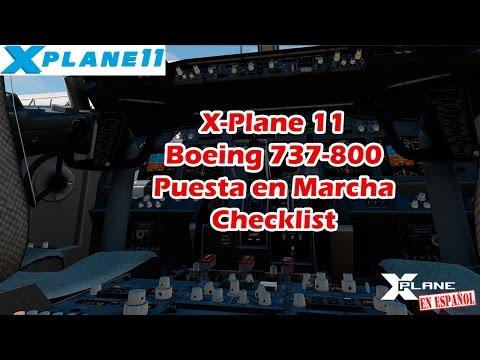 X-Plane 11 - B737-800 - Puesta en Marcha