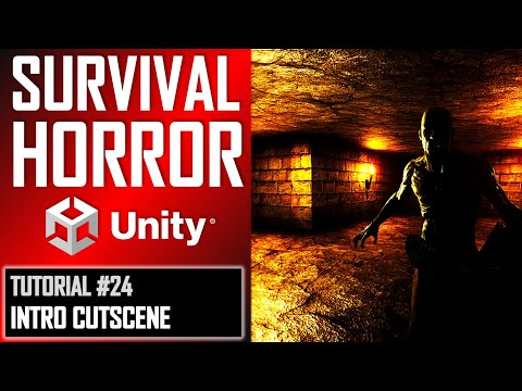 How To Make A Survival Horror Game - Unity Tutorial 024 - INTRO CUTSCENE thumbnail