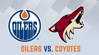 ARCHIVE | Post-Game Interviews - Oilers vs. Coyotes
