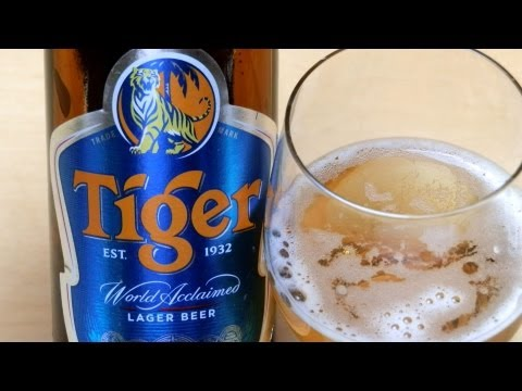 Tiger Beer [Lager from Singapore]