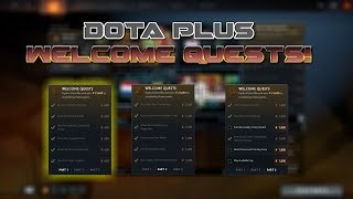 Dota 2 | Dota Plus Welcome Quests Part 1 | How To Complete Them