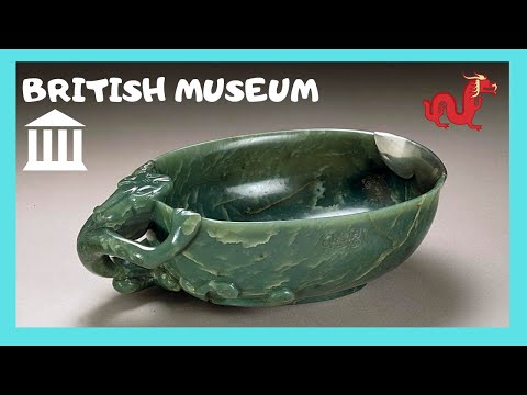 BRITISH MUSEUM, ancient CHINESE ARTEFACTS FROM JADE dating back to 5,000BC (LONDON)
