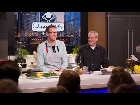 C.J. Jacobson's Avocado and Sweet Pea Crudité - YouTube