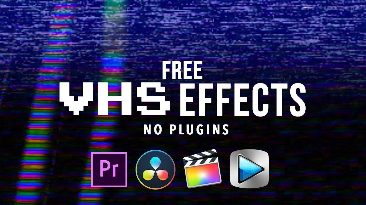 VHS FX (FREE PACK) – CinePacks