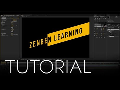 SKEWED Intro Tutorial!! │ Create Sliding Intro In After Effects! - For  Beginners