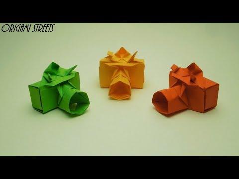 Origami Kamera Yang Terbuat Dari Kertas