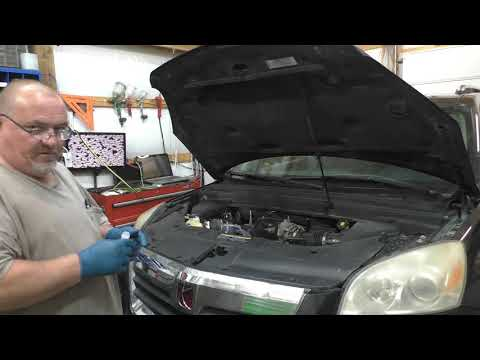 2007 Saturn Outlook Alternator Replacement, and some Rants