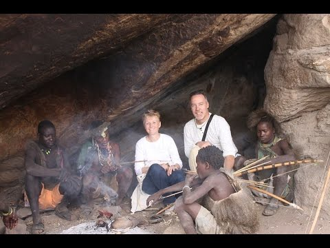 HADZABE TRIBE of TANZANIA AFRICA, Camp & Hunting - Ripper Films