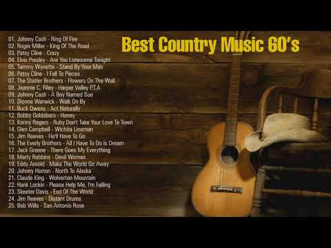 Best Country Music - Old Country Songs 60's - 60s Country Music Classics Playlist