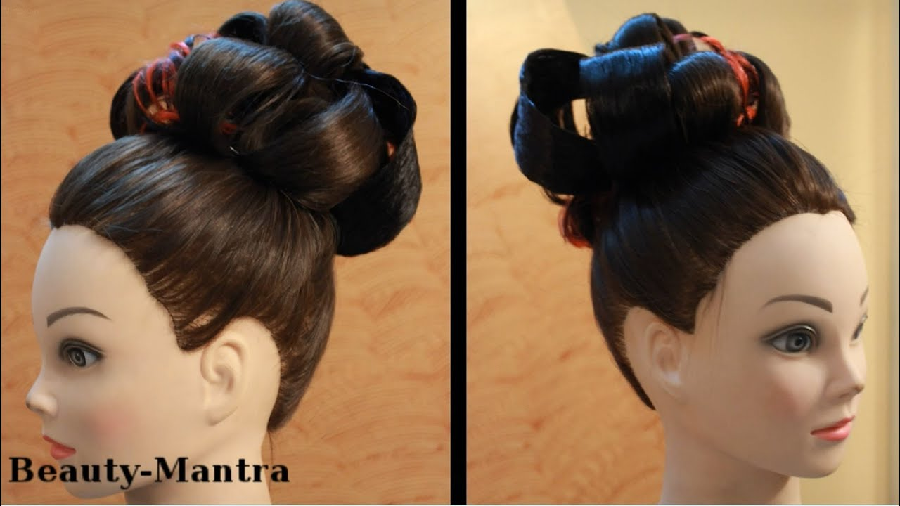 Victorian Hair Styles: Vintage Victorian Hairstyle For Medium Hair