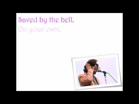 Robin Gibb Saved By The Bell Lyrics Video [HQ]