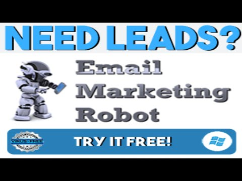 Watch B2B leads being generated LIVE by this Email Robot software!