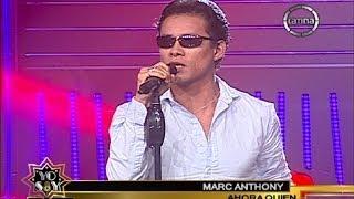 """Marc Anthony impuso el ritmo con """"Ahora quién"""" en Yo Soy 2014"""