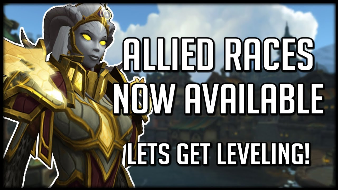 how to get allied races