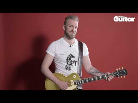 Me And My Guitar interview: Joey Landreth / Sorokin LP Goldtop style Wraptail