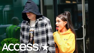 Pete Davidson Makes Wild X-Rated Joke About Fiancée Ariana Grande! | Access