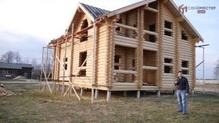 видео Свайно забивной фундамент для деревянного дома