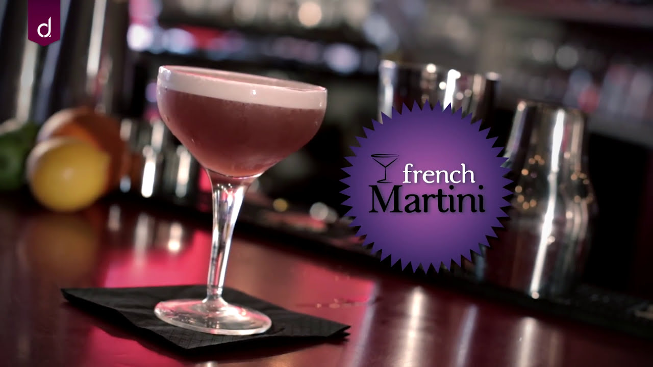 French Martini Cocktail   Andrew James Skill School   YouTube