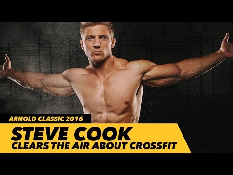 Steve Cook Clears The Air About Crossfit | Arnold Classic 2016