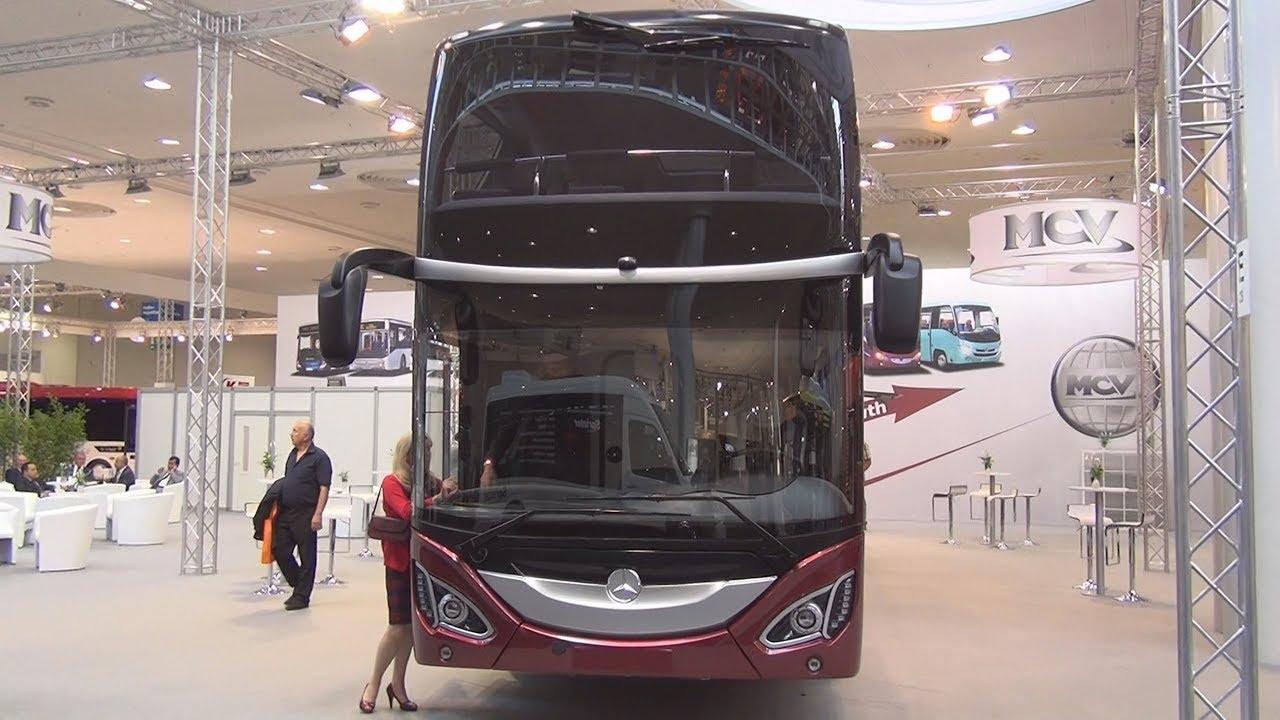Mercedes-Benz MCV 800 Bus Exterior and Interior
