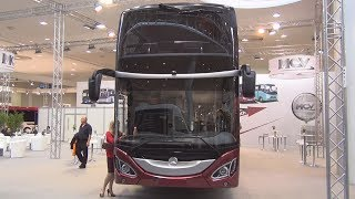 Mercedes-Benz MCV 800 Bus Exterior and Interior