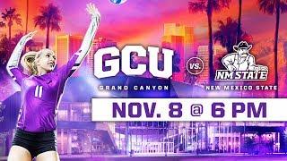 GCU Women's Volleyball vs. NMSU Nov 8, 2018