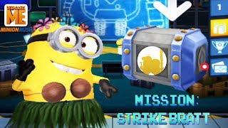 Despicable Me 2: Minion Rush - Dancer Minion In New Mission Strike Bratt Special 2019!