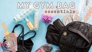 My Gym Bag Essentials + Workout Food - Honeysuckle