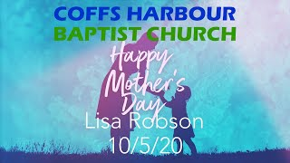 Online Service - Mothers Day - Lisa Robson