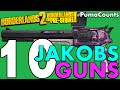 Top 10 Best Jakobs Guns And Weapons In Borderlands 2 And The Pre-Sequel! #PumaCounts