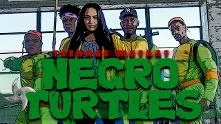 One of BachelorsPadTv's most viewed videos: TEENAGE MUTANT NINJA TURTLES (PARODY) by @KingBach
