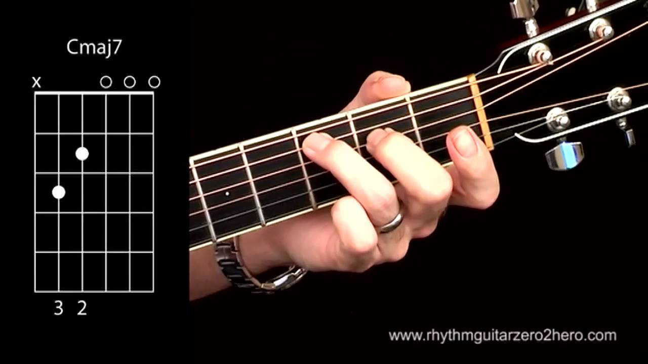 Acoustic guitar chords learn to play c major 7 youtube acoustic guitar chords learn to play c major 7 hexwebz Gallery