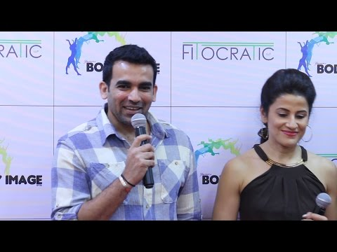 Zaheer Khan Full Speech | Body Image For Fitocratic GYM Launch